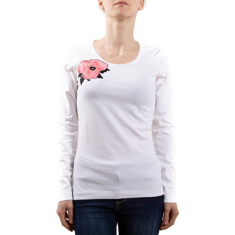 Armani Jeans T-SHIRT bianco R5H11AB