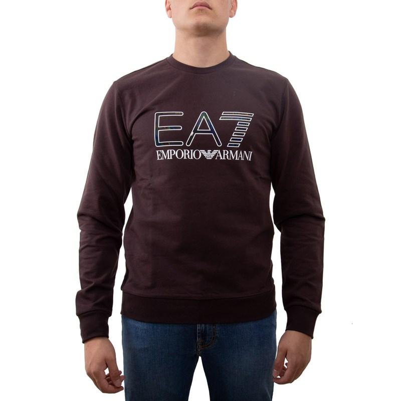EA7 FELPA marrone 6GPM33PJ05Z